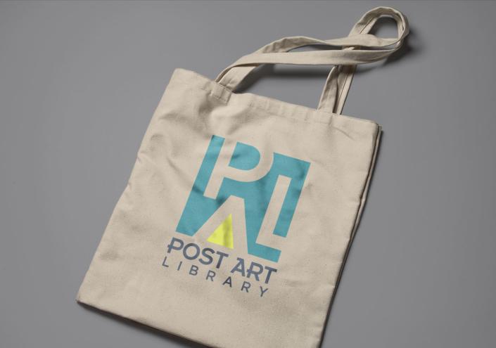 Post Art Library Branding