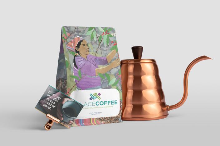 Enlace Coffee Branding